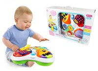 baby reading games - Multi function music flash learn game table phone book Electronic organ Drum in read machine sets baby educational toy