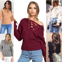 american primer - 2016 Europe and the United States fall and winter burst models primer sweater sexy deep V strapless chest strap sweater women