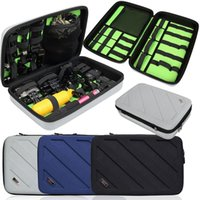 Wholesale Multi Functional Digital Make Up USB Organizer Bag Pouch for Gopro Accessories Large Size Travel Fashion Gift