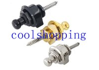 Wholesale Professional durable pins parts cooper Strap Lock Straplocks Round Head for Electric Guitar Bass