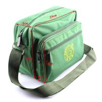 backpack repair - Small tool kit bags shoulder style army green canvas bags color electrician repair kits backpack