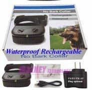 Wholesale 100pcs Level Rechargeable Waterproof Anti No Bark Shock Vibration Dog Anti No Bark pet Training Shock Collar