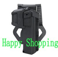 Cheap Tactical Gun Pistol Holster Belt Waist Protection Hunting Holster For Glock Series Black Sand