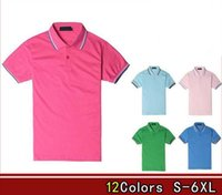 Wholesale 2016 New Men shirts perriinglys Boss Summer La Men Women Casual Style freds Short sleeved cotton COST polos shirts