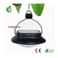 Wholesale Outdoor Waterproof Solar LED Night Light Tent Lights with LEDS for Outdoor Indoor and Camping Solar Lights OED CLT089