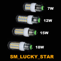 Wholesale In Stock SMD5730 E27 GU10 B22 E14 G9 LED lamp W W W W V V LED Bulb Led Corn light