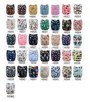 Wholesale 1 New Design Fox Baby Infant Pocket Cloth Diaper Nappy Diaper Insert Nappy Reusable Adjustable Washable