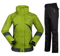 best winter ski jackets - Fashion women best quality brand Ski suits jacket trousers set winter warm outdoor jacket and pants set