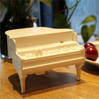 Wholesale Newest M16 Piano Toothpick Box Automatic Pop Piano Keyboard Pressed Home Daily Creative Strange Gifts