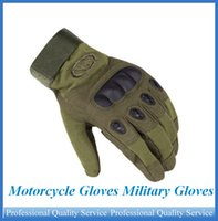 Wholesale Motorcycle Gloves Military Gloves Hard Knuckle Tactical Full Finger Army Gear Sport Shooting Paintball Hunting Riding Motorcycle OUT057