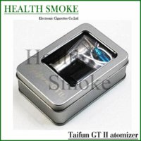 Cheap Newest rebuildable Taifun GT 2 atomizer update from Taifun GT II clone stainless big vapor atomizer for Mechanical MOD