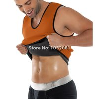 Wholesale XS XL plus size waist cincher for men sweating Neoprene vest waist trainer waist training corset hot shaper body M05O