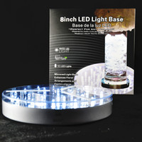 battery lights centerpieces - Hot Sale inch cm Frozen Wedding Favors And Gifts Charge Battery Powered Remote Control Multi colors Led Lighted Centerpieces
