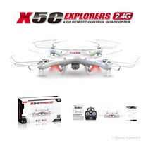 Wholesale New Version SYMA X5C X5C GHz CH MP HD FPV Camera RM475 Axis RC Helicopter Quadcopter Gyro GB TF Card