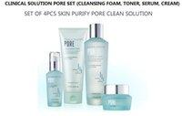 Wholesale Pore Management Set of Clinical Solution for Pore Troubled Skin Foam Cleanser ml Toner ml Serum ml Cream ml