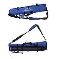 arrow bags archery - Blue Archery Bow Bag Shoulder Handle Carrying Shooting Hunting Rolled Up Recurve Bow Bag Foldable Recurve Bow Case