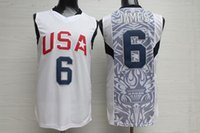 Wholesale New Arrivals Dream Team James White Jersey embroidered stitched jerseys high quality sports clothing clothes shirts