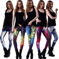 Wholesale NEW Women Yoga Running Outdoor Sport Elastic Exercise High Waist Leggings Gym Fitness Slim Pants Sexy Leggings trousers