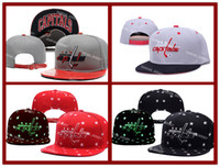 artificial icing - 4 Colors Capitals Snapback Men s Hats Embroider Team Logo Sports Adjustable Ice Hockey Caps Washington Hip Hop Flat Visor Hat