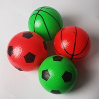 Wholesale Inflatable toys small basketball Indoor and outdoor children s toys kindergarten children basketball hand patted the ball ball cm