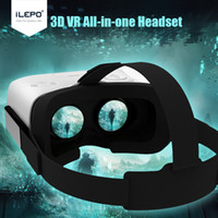 Wholesale 3D Glasses VR Box Goggles Head Mount Andriod6 OS RK3126 WIFI G BT HS Virtual Reality All in One VR Headset Smartphone Helmet VR