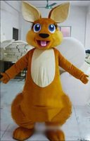 animal forest movie - Adult Size Forest Animal Brown Kangaroo Mascot Costume Fancy Dress Party Outfit Drop Shipping