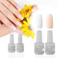 long nail art tips - French Nail IDO Gelish BT Nail Art Soak Off Harmony Colours Long Lasting Cosmetic Gel Nail Polish False Nail Tips Guides