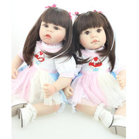 adora doll sale - 55cm Little Fat Baby Girls Silicone Reborn Doll for Sale Pullip Bonecas Bebe Reborn Baby Toys for Kids juguetes Adora Dolls