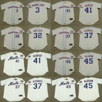 baseball casey - Men JON MATLACK CASEY STENGEL TOM SEAVER TUG McGRAW BUD HARRELSON New York Mets Throwback Away Baseball Jersey stitched