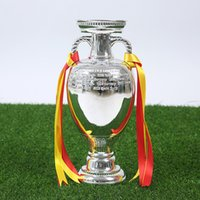 Wholesale Miniverse Plated Silver European Cup cm Height Trohpy Portugal Newly Champions Name Collections Resin