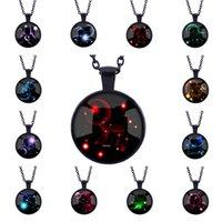 beautiful gemstone jewelry - 2016 New Hot Galaxy High Quality Jewelry Colors Constellation Women Jewelry Beautiful Fashion Time Gemstone Necklace Pendant
