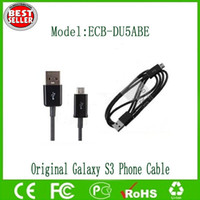 Wholesale Original USB Data Charging Cable For Samsung Galaxy S3 I9300 Galaxy S4 I9500 Galaxy Note N7100 Data Cable
