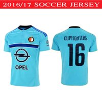 Wholesale 2016 Netherlands feyEnoOrd jersey Short Soccer Jerseys Thai Quality feyEnoOrd CUPFIGHTER HET LEGIOEN Survetement Football T Shirt