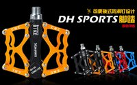 Wholesale 2016 NEW Aluminum MTB Mountain BIke Pedals Road sealed Bearing Platform Bicycle Pedal quot