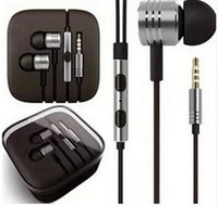 al por mayor teléfono xiaomi hongmi-MI XIAOMI pistón auricular 3 III Auricular Auricular con micrófono remoto para los teléfonos MI4 MI3 MI2 MI2S Hongmi 6s Iphone más Auriculares