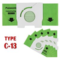 bagged vacuum cleaners - 5pcs pack Replacement VACUUM DISPOSABLE BAGS fit for Panasonic vacuum cleaner type C AMC S5EP