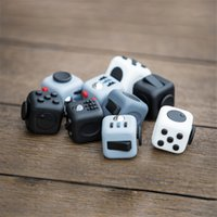 Wholesale 2016 Fidget Cube Toy Games for Adult World American Desk Toys Children Christmas Gifts to Relieve Anxiety and Pressure Decompression Toys