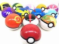 Wholesale 2016 New poke go pokeball pocket monster figures anime action figure toy kids gift