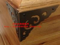 Wholesale accessories antique copper copper bonus classic two angle furniture corner corner decorative box