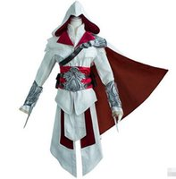 assassin play - Hot sales classic game quot Assassin s Creed quot role playing costumes Assassin s Crew Artest Clothing Halloween Cosplay Men s