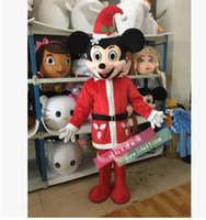 Wholesale Hot Mascot Costumes Adult size Cartoon thanks Halloween Carnival Costume High quality mouse mascot Minnie mouse mascot costume
