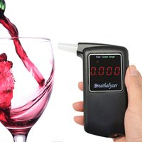 Wholesale reathalyzer keychain car gadget Patent POLICE High Accuracy Prefessional Police Digital Breath Alcohol Tester Breathal