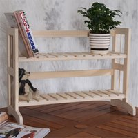 Wholesale DIY Multilayer Shelf Two Layer Kitchen Shelf Storage Racks