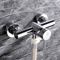 Wholesale Han Pai Brass Garden Faucet Decorative Outdoor Faucets Washing Machine Connector Tap Bibcock Laundry Utility Faucets Robinet HP7311