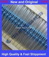 Envío libre 1000pcs 1 / 4W Watt 470 ohmios Resistor de película metálica 1% 0.25W paquetes de película de color resistencia