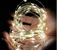 Wholesale 3M LEDs AA Battery Operated waterproof Led String Mini LED Copper Wire String Fairy Light Holiday Home Party Decoration colorful Light