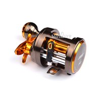 al cast - Sunlure BB Fishing Reel CNC machined forged AL Alloy Body Casting Reel Aluminum Stainless Steel Spinning Reel CA300