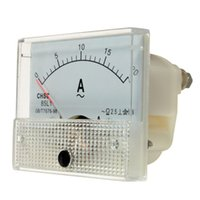 analog ac amp meter - Price AC A Rectangle Analog Amp Meter Measurement Ammeter Current Panel Gauge With Screws For Experiment