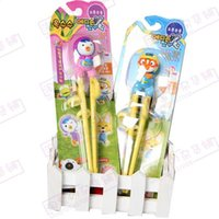 animations pairs - Korean Animation Pororo Petty Crong Edison Training Chopsticks Kids Right Left DHL Fedex ET52