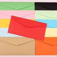 Wholesale 50pcs Envelopes Paper Envelopes mm Color Envelopes Cute Colorful Baby Gift Craft Envelopes for Wedding Letter Invitations